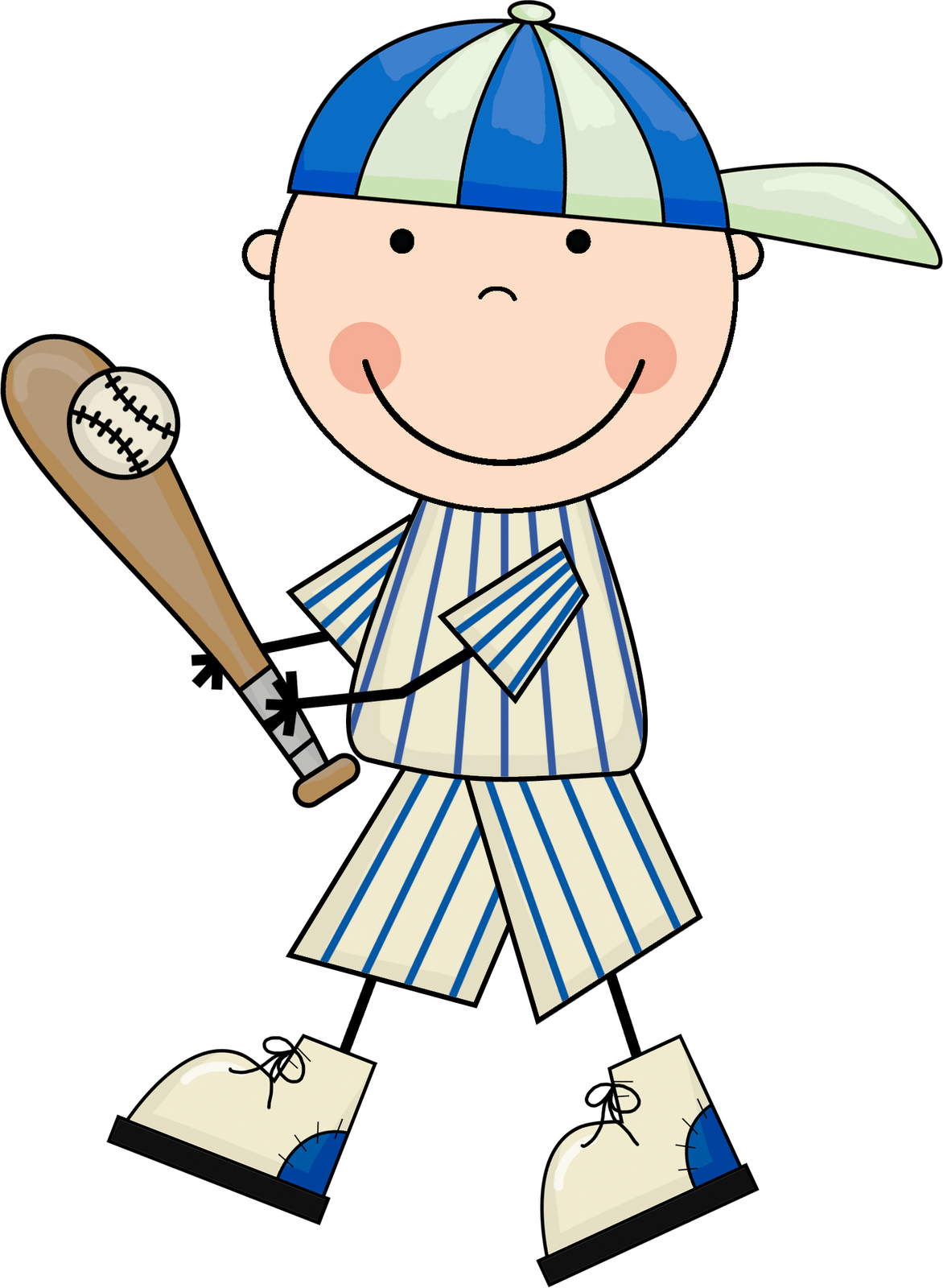Baseball clipart 5