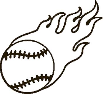 Baseball clipart 6