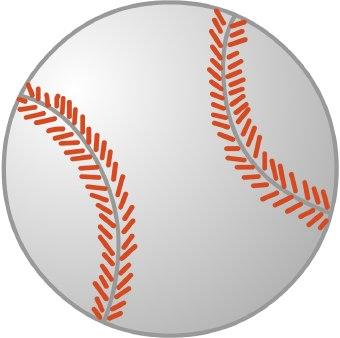Baseball clipart 7
