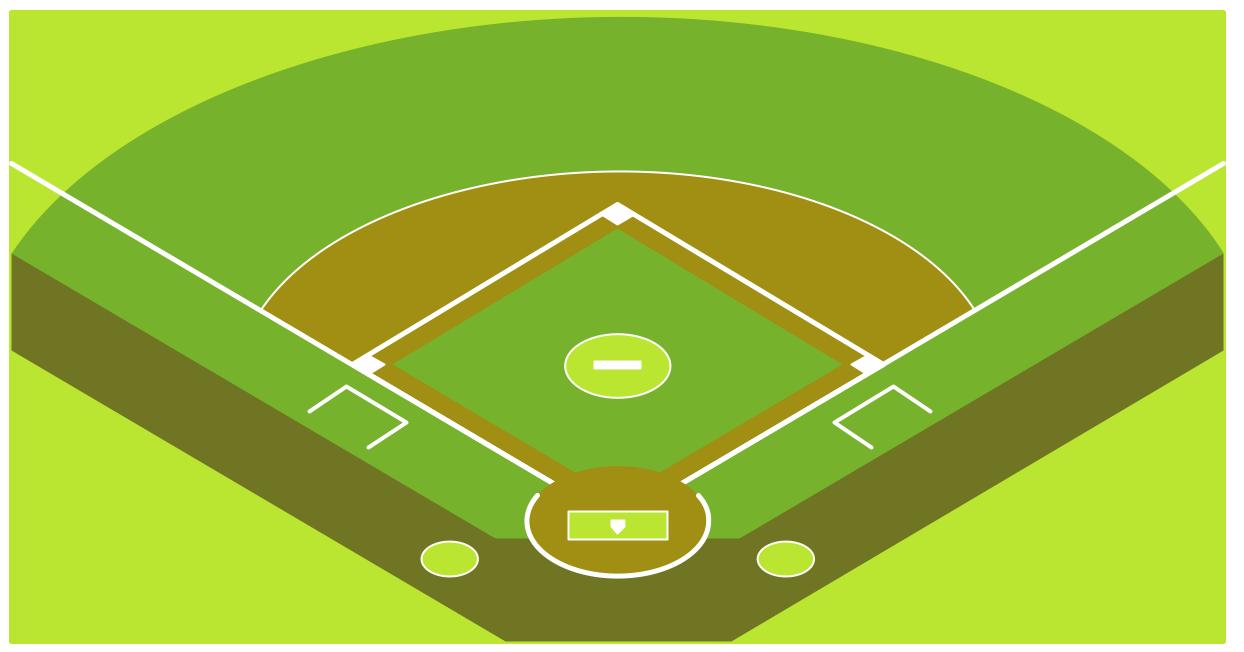 Baseball diamond baseball field clip art 5