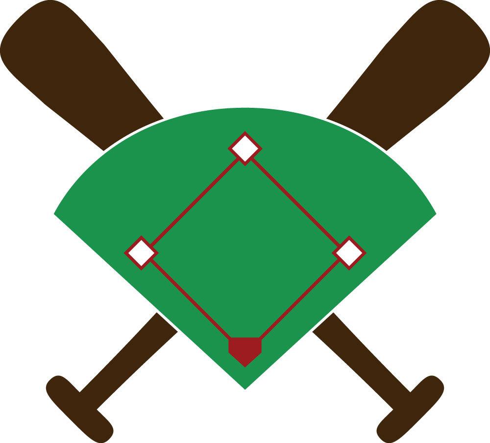 Baseball diamond baseball field clip art 9