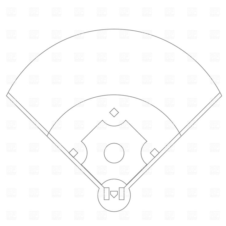 Baseball diamond baseball field clip art free more at recipins sports for