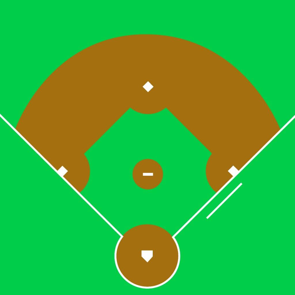 Baseball field clip art 4 2