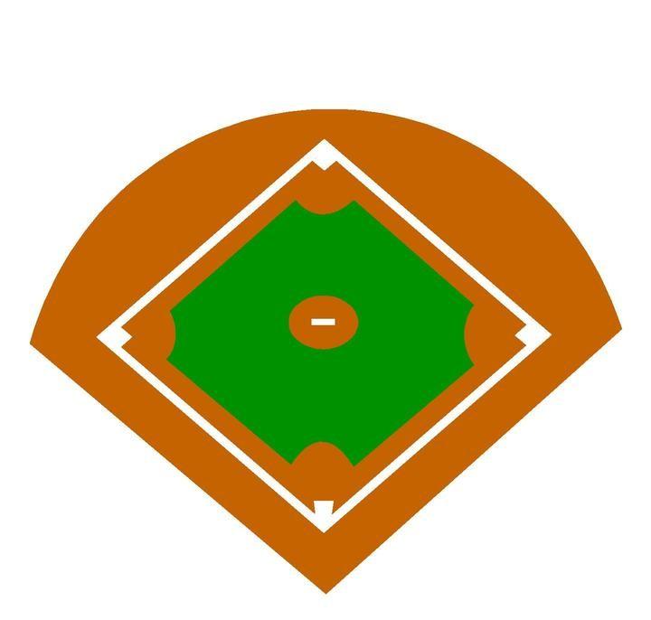 Baseball field clip art 4 3