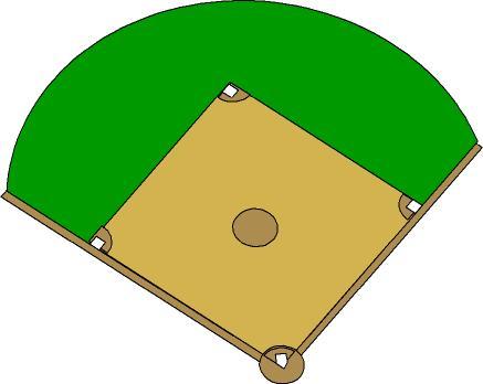 Baseball field clip art 4 4