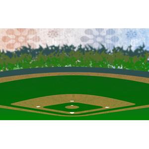 Baseball field clip art 4 7