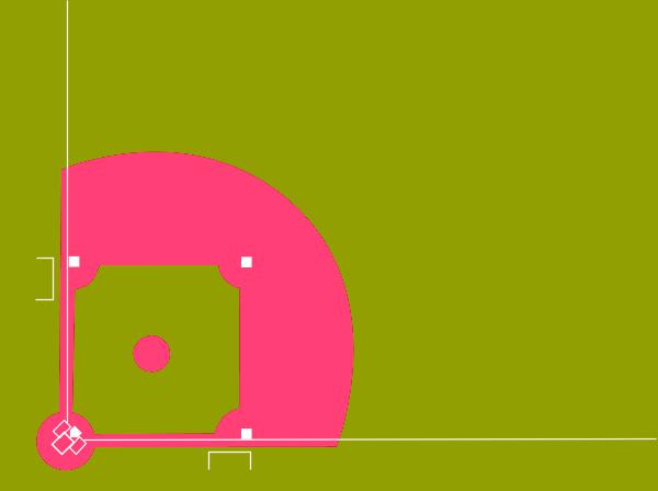 Baseball field clip art 4 8