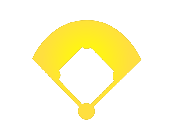 Baseball field clip art 8