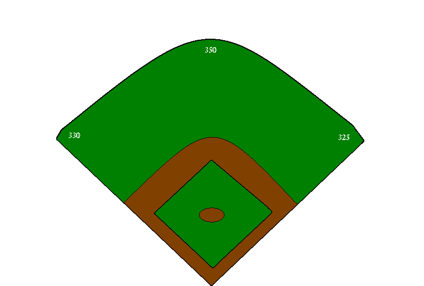 Baseball field clipart free images 4