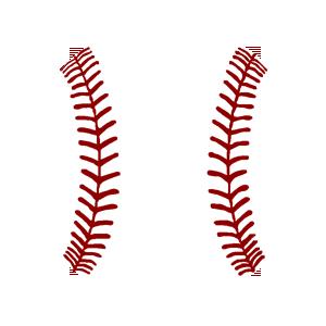 Baseball logos clipart