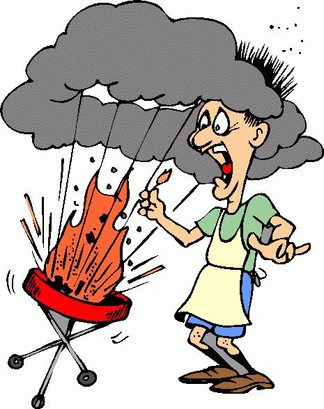 Bbq barbecue clip art free barbeque explosion clipart 4