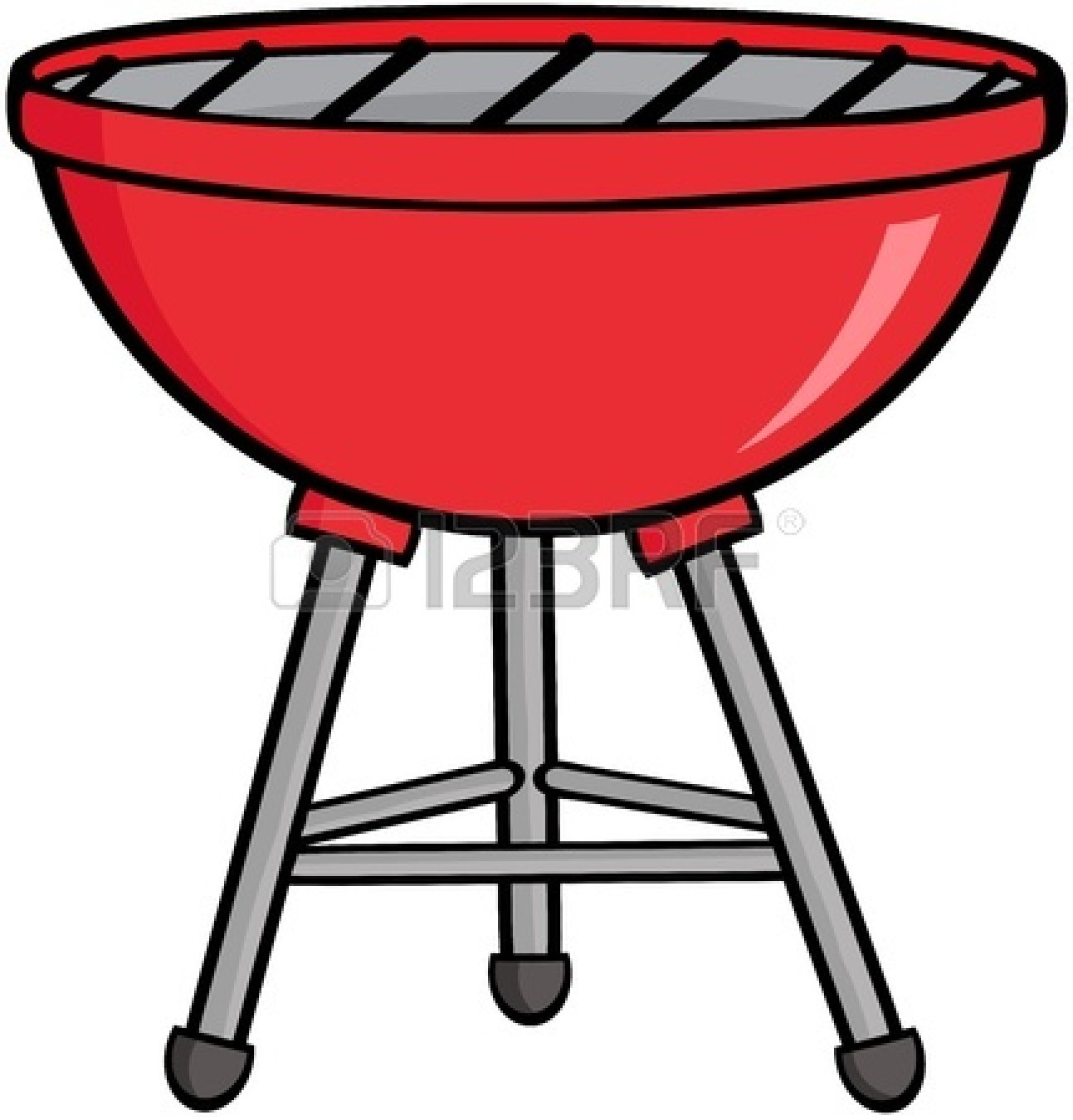 Bbq grill clipart 2