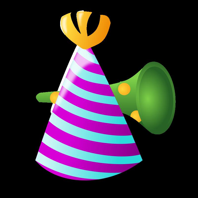 Birthday hat clip art clipart photo 3
