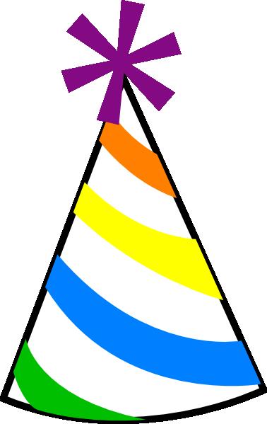 Birthday hat clipart 2