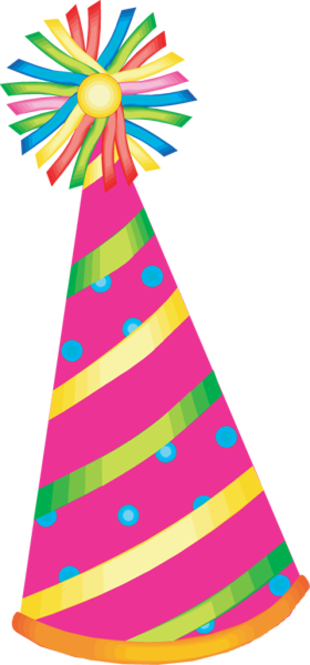 Birthday hat miscellaneous hats clipart
