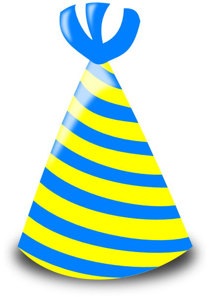 Birthday hat transparent background free clipart 5