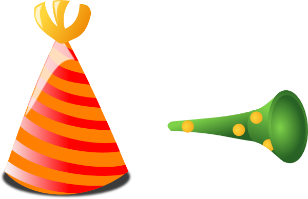 Birthday hat transparent background free clipart 7