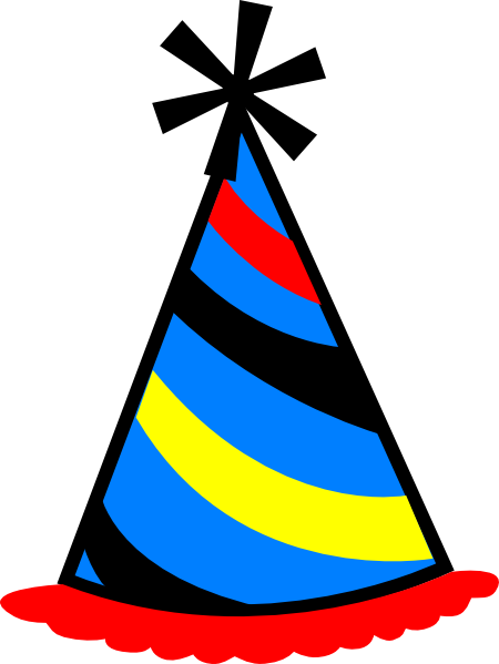 Birthday hat transparent background free clipart