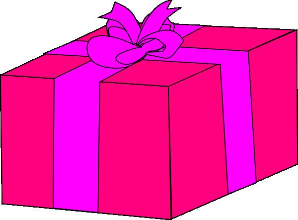 Birthday present clip art free clipart