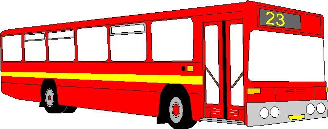 Bus clip art free clipart images