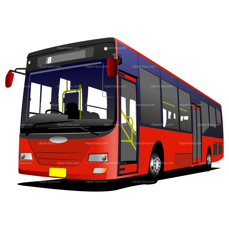 Bus clipart 2