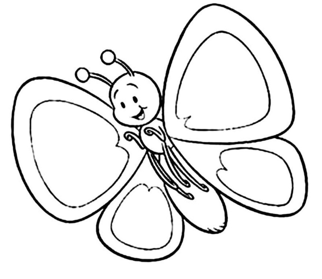 Butterfly  black and white cute butterfly clipart black and white