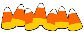 Candy corn border clip art almales