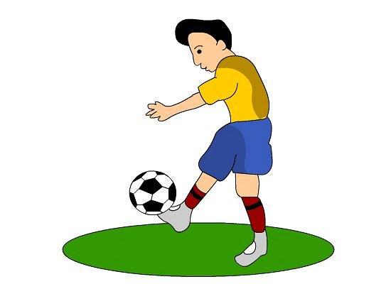 Cartoon football clipart