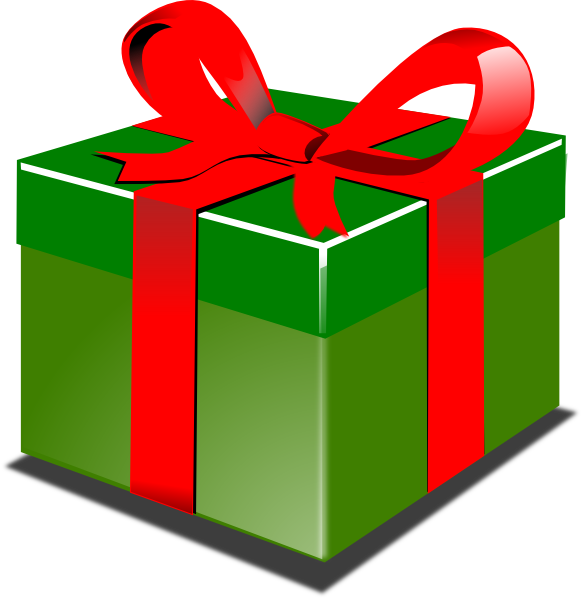 Cartoon present clipart