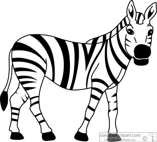 Cartoon zebra clipart free clip art images image