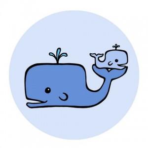 Chalkboard whale clip art whales blue grey