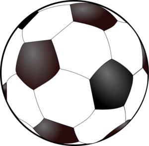 Clip art football figure free printable