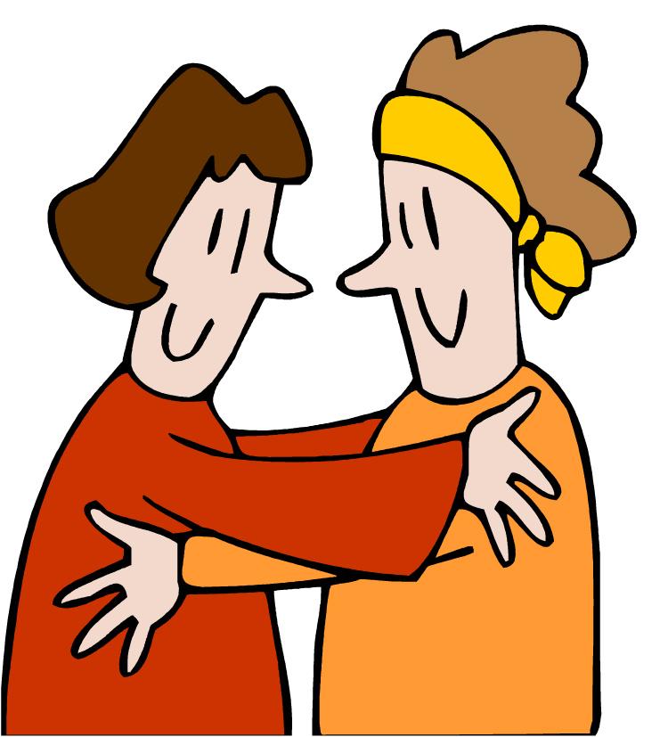 Clip art friendship hugs clipart