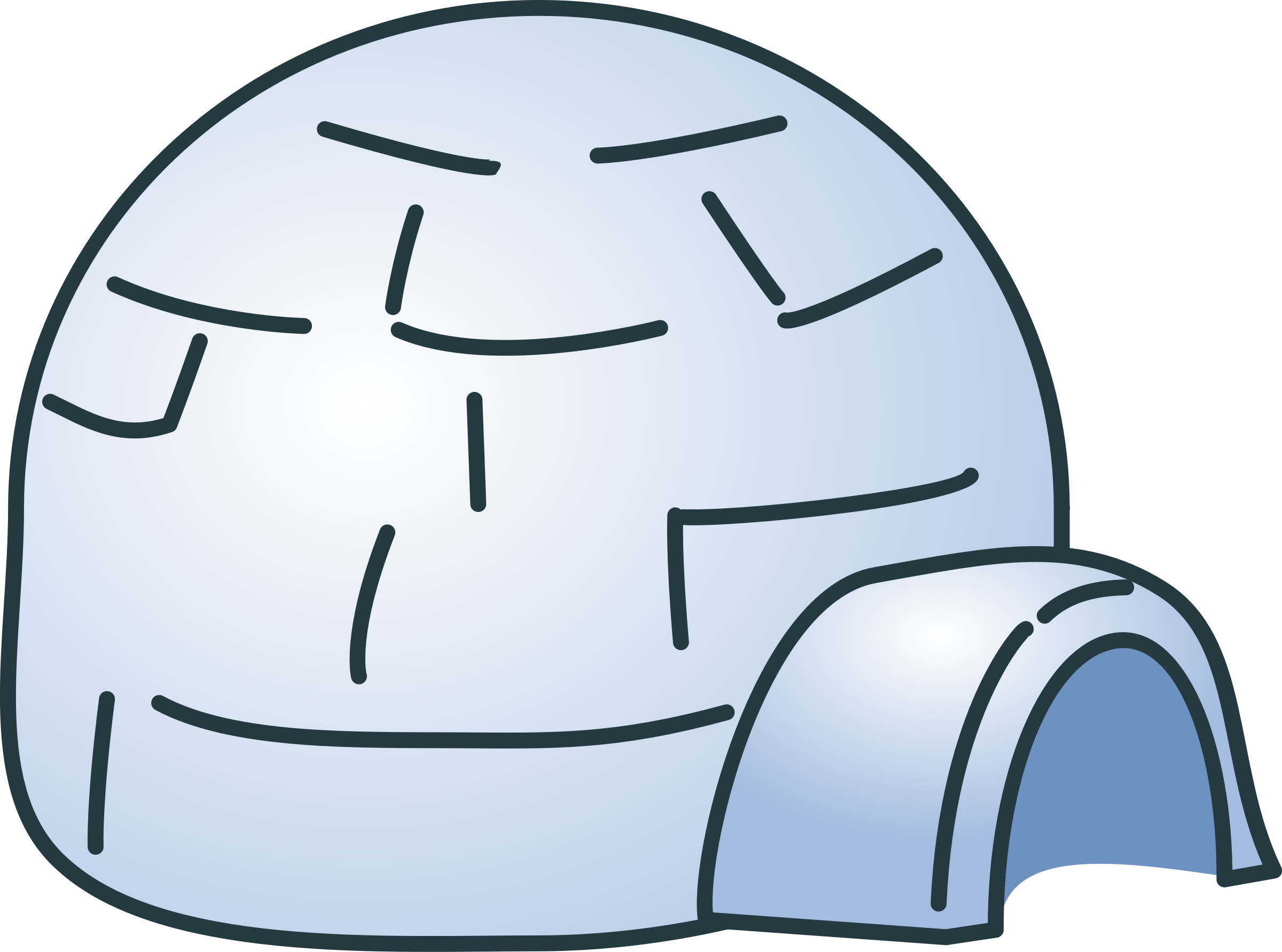 igloo outline clipart wikiclipart