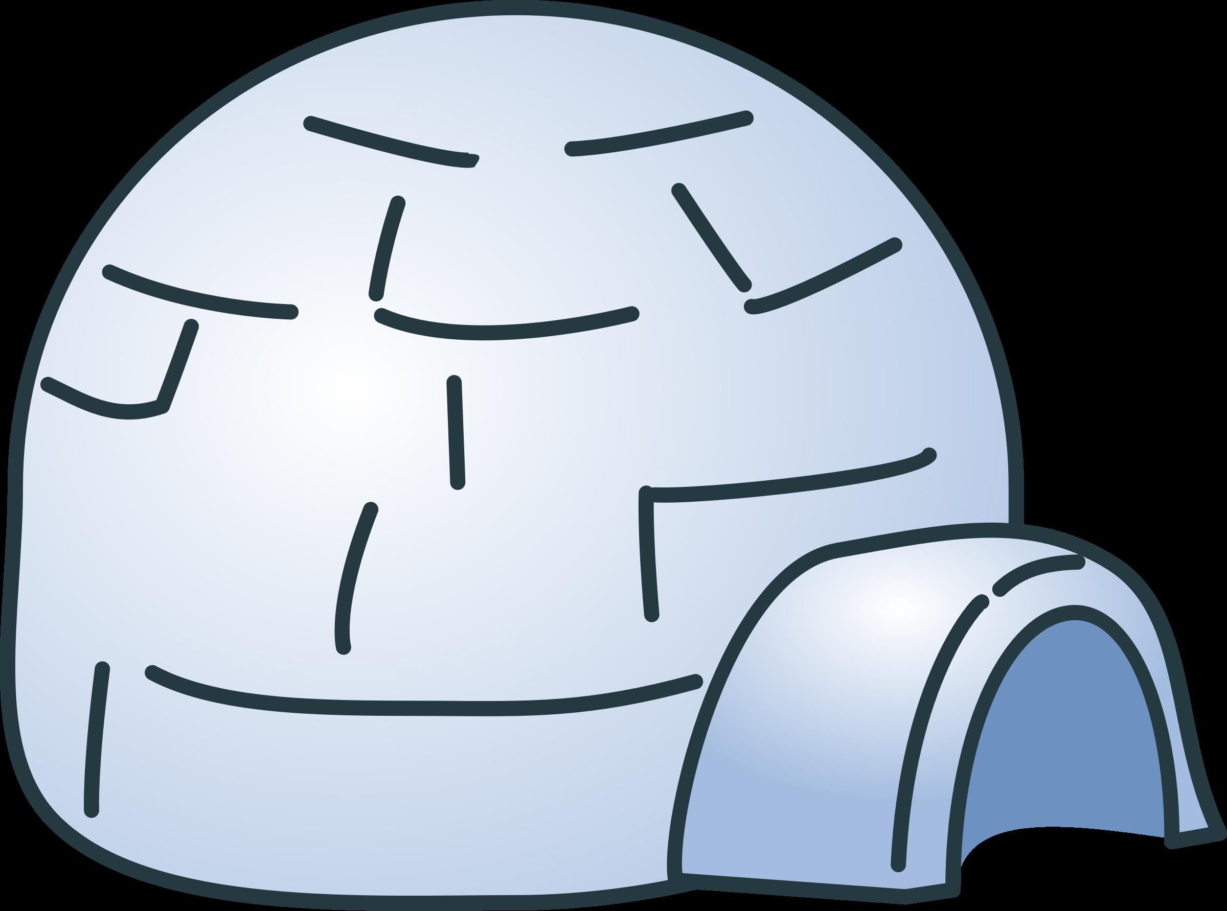 Clip art igloo