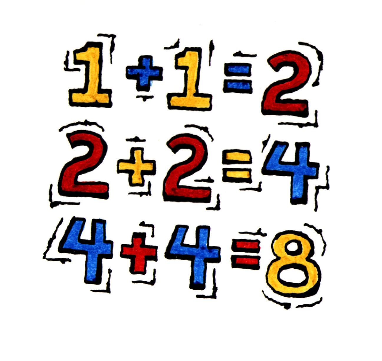 Clip art kindergarten math clipart