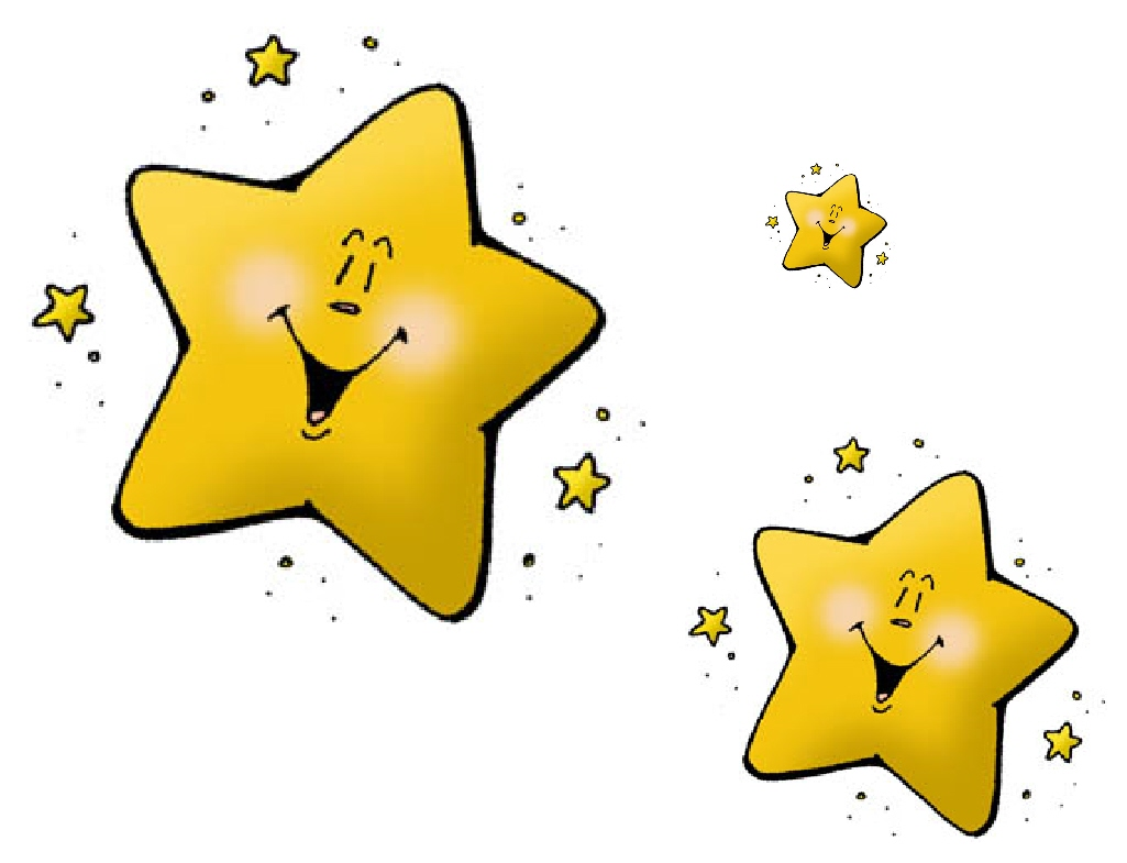 Clip art stars kindergarten clipart