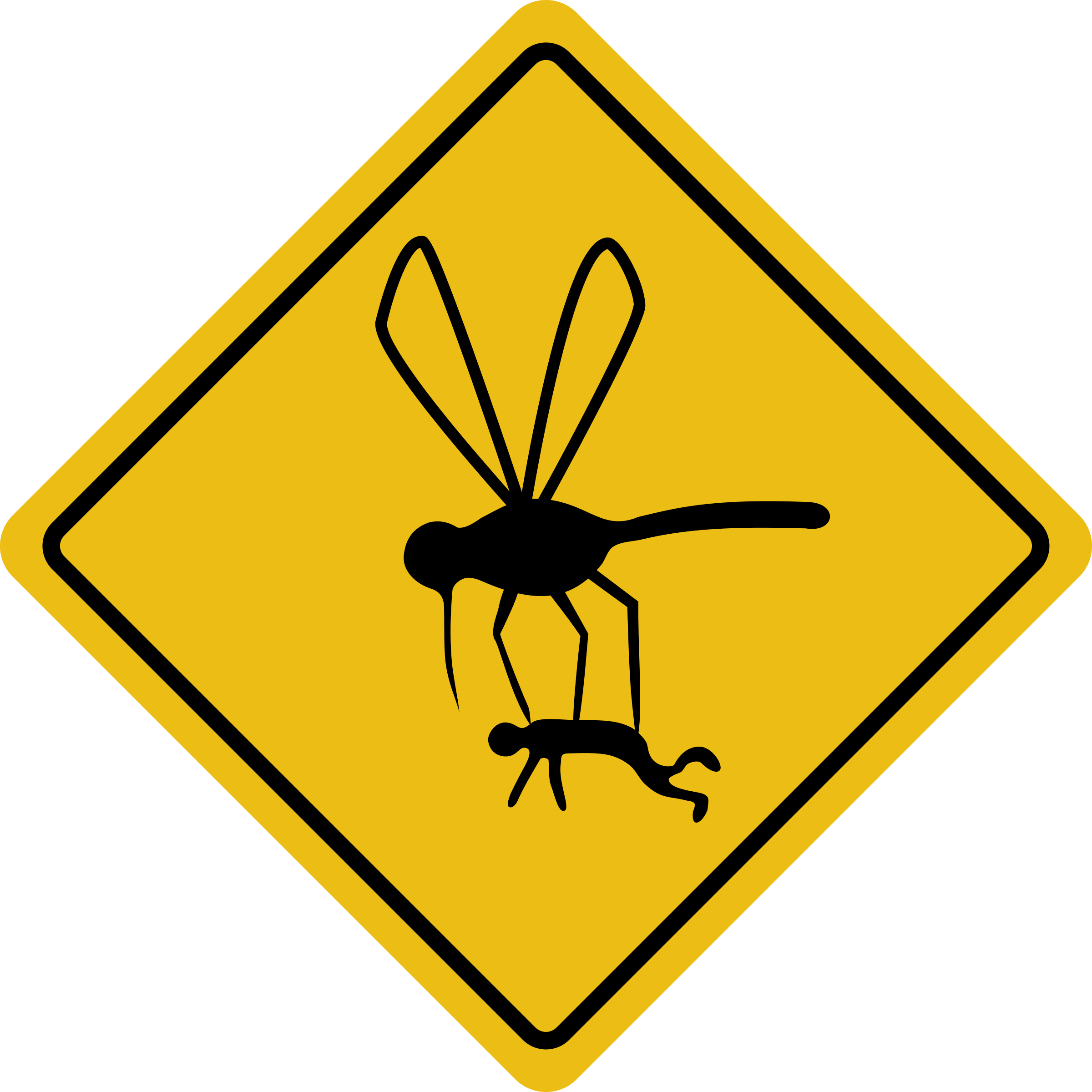 Clipart mosquito hazard