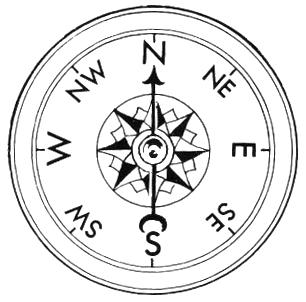 Compass clip art artpass 4 image