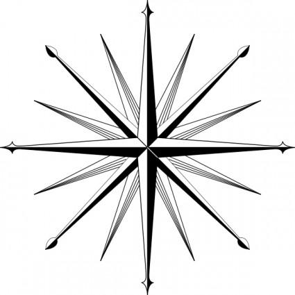 Compass image ofpass clipart 5 wind rosepass rose clip art