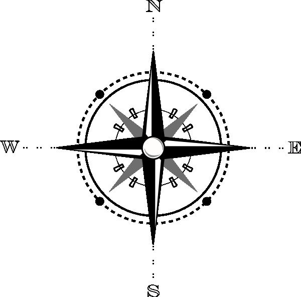 Compass mappass clip art at vector clip art