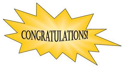 Congratulations clip art clipart 2