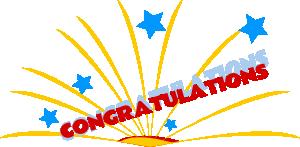 Congratulations clipart 5