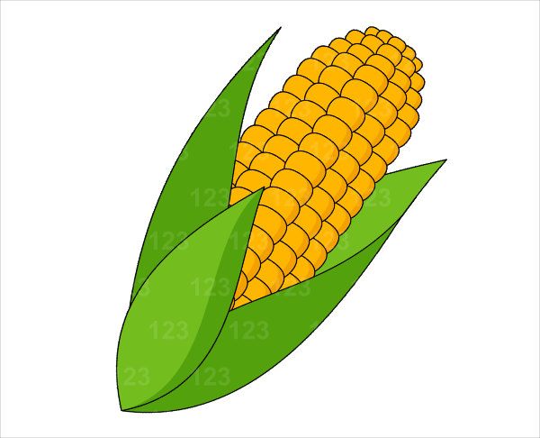 Corn clip art free clipart images 2