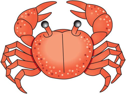 Crab clip art cartoon free clipart images 4