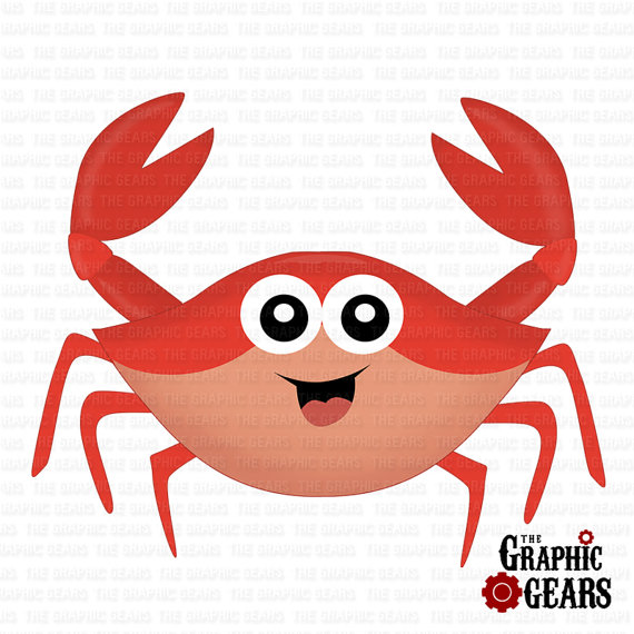 Crab clip art cartoon free clipart images 6