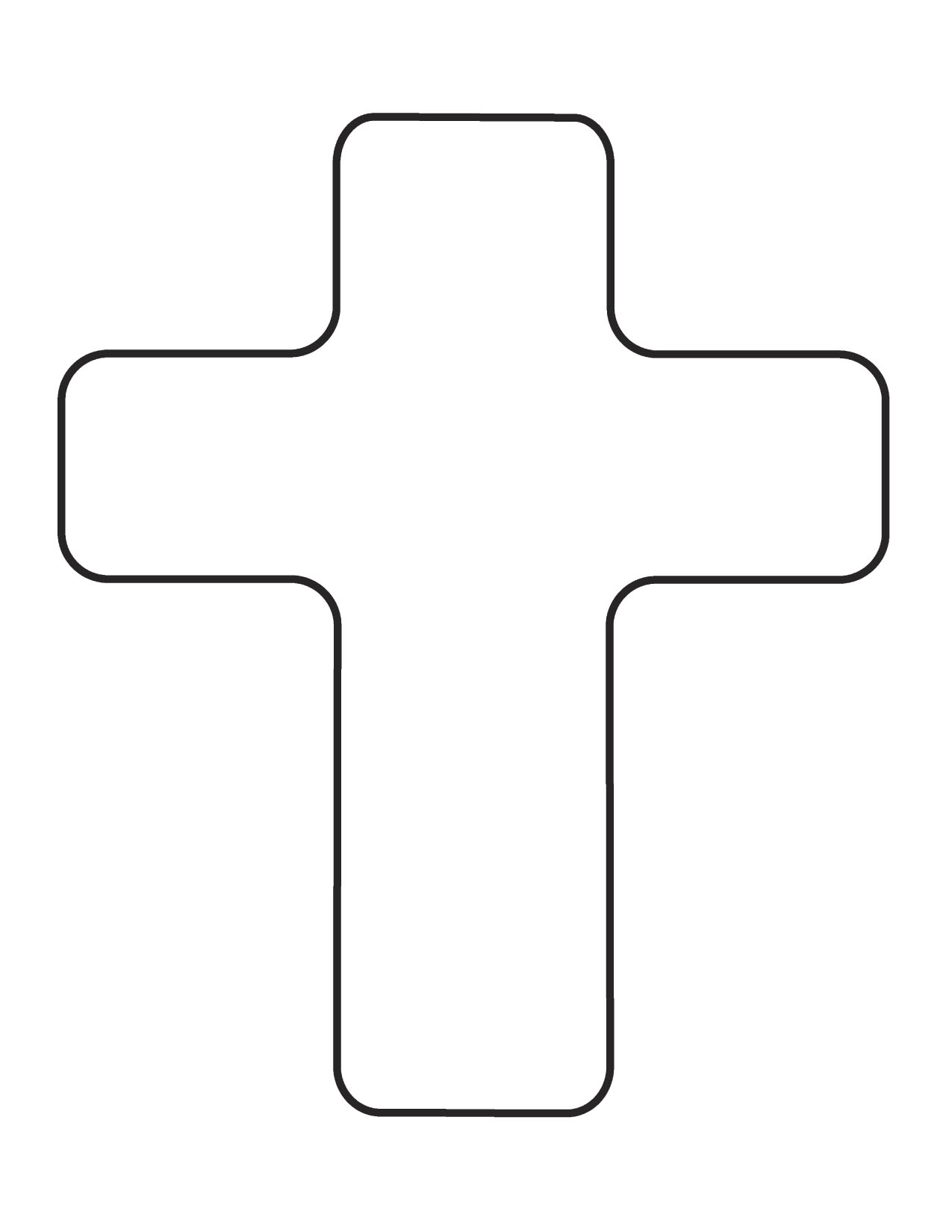 Cross clipart black and white free images 2