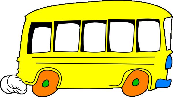 Cute school bus clip art free clipart images 2 4