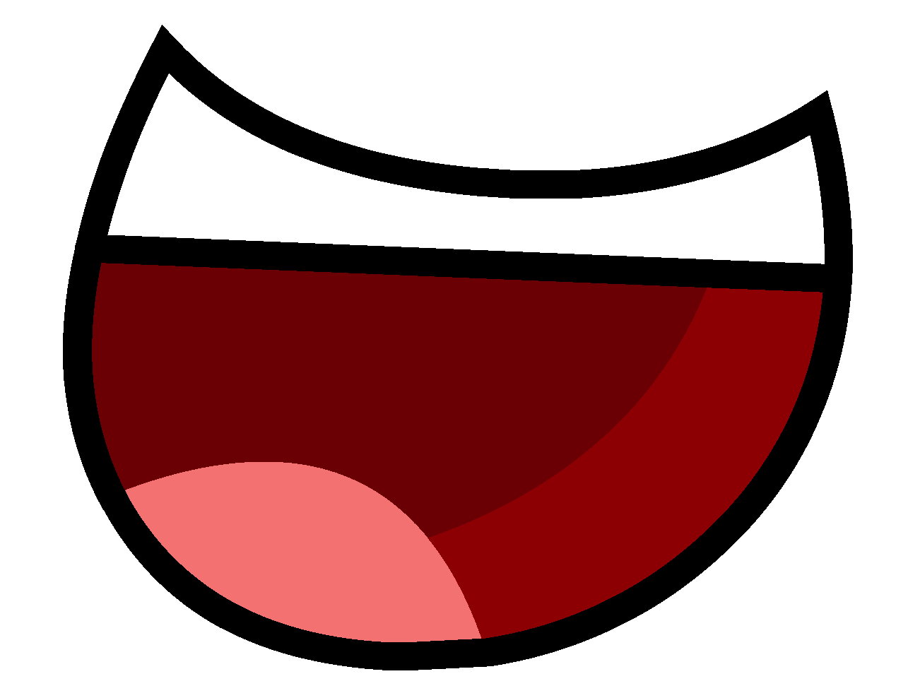 Cute smile mouth clipart