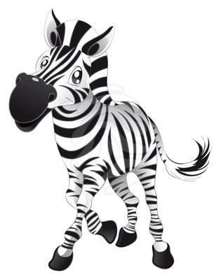 Cute zebra clipart free images 2